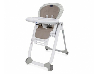 Chicco polly progres5 pois 4 koła krzesełko + pałąk z zabawkami