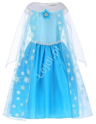 Sukienka dla dziewczynki | strój karnawałowy frozen