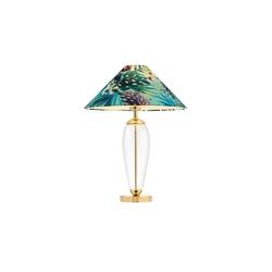 Kaspa - lampa stojąca feria 1, zielona - zielony || złoty