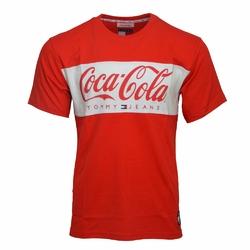 Koszulka Tommy Jeans Tommy x Coca Cola - DM0DM06692 696