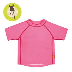 Koszulka T-shirt do pływania Light pink, UV 50+
