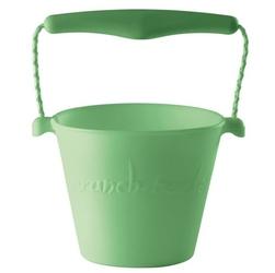 Zwijane wiaderko silikonowe Scrunch-bucket, pastel zielony
