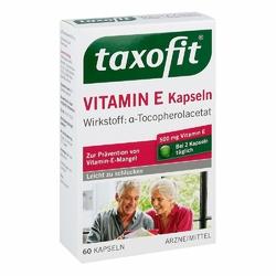 Taxofit witamina E kapsułki