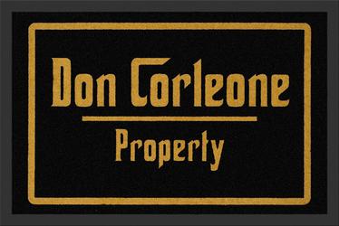 Własność Don Corleone - wycieraczka