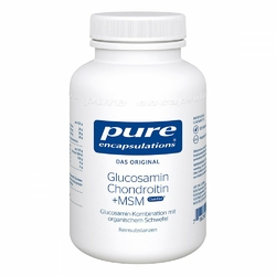 Pure Encapsulations Glucosamin+chondr.+msm Kps.