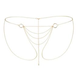 Majteczki z łańcuszków - bijoux indiscrets magnifique bikini chain złoty