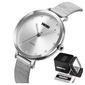Zegarek damski skmei 1291 srebrny elegancki stal
