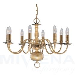 Flemish lampa wisząca 8 patyna
