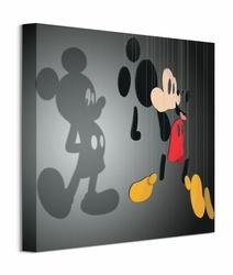 Mickey Mouse Shadow Puppet - obraz na płótnie