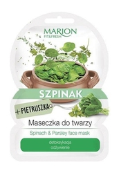 Fitfresh face mask maseczka do twarzy detoksykacja i odżywienie szpinak  pietruszka 9g