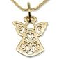 Wisiorek z żółtego złota aniołek wec-z-wis-aniołek-39