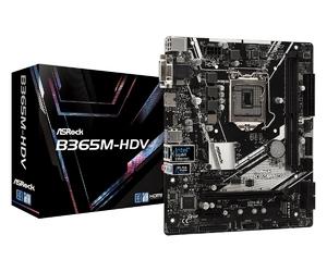 ASRock Płyta główna B365M-HDV s1151 4DDR4 HDMIDVID-SUB UATX