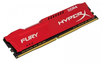 HyperX DDR4 Fury  8GB3200 CL18 Czerwona