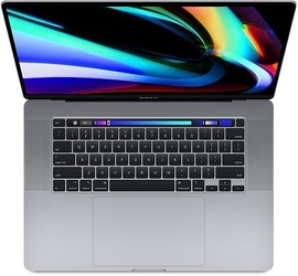 Apple macbook pro 16 touch bar i7 2.6ghz32gb rp5500m1tb space gray z0xz0020p