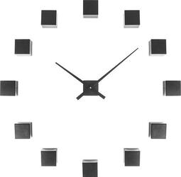Zegar ścienny DIY Cubic czarny