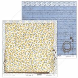 Papier do scrapbookingu Yellow Spring 30,5x30,5 cm - 04 - 04