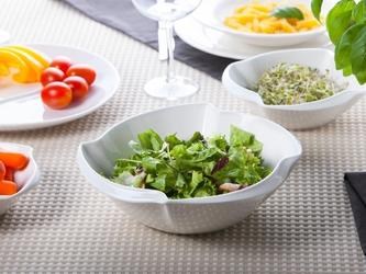 Salaterka  miseczka ścięty kwadrat porcelana altom design regular 24 cm
