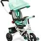 Toyz wroom turquoise rower 3 kołowy z obracanym siedziskiem + prezent 3d