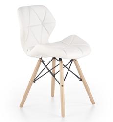 Krzesło do jadalni tapicerowane ekoskórą k281