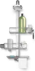 Półki prysznicowe z uchwytem simplehuman plus