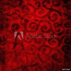 Naklejka samoprzylepna czerwone tło tkaniny