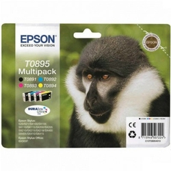 Tusze Oryginalne Epson T0895 C13T08954010 komplet - DARMOWA DOSTAWA w 24h
