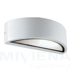 Rhodes kinkiet 1 aluminium biały