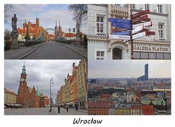 Wrocław - plakat premium