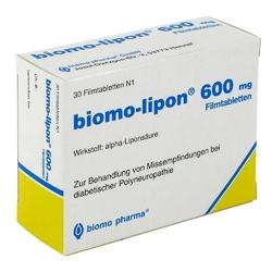 Biomo-lipon 600 mg tabletki powlekane
