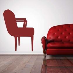 Szablon malarski fotel 2245