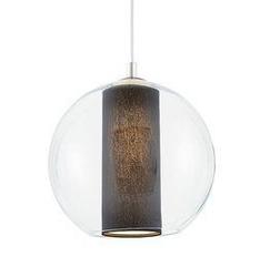 Kaspa :: lampa wisząca merida  s m l na jednym plafonie czarne