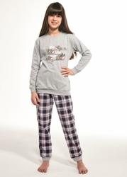 Piżama dziewczęca cornette young girl 592117 koala dłr 134-164