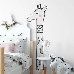 Naklejka na ścianę - sweet giraffe , wymiary naklejki - szer. 30cm x wys. 90cm