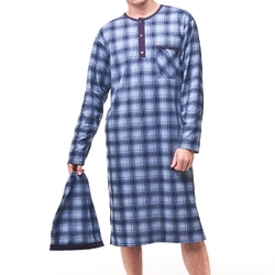 Koszula cornette 110 dłr męska 3xl-5xl rozmiar: 3xl, kolor: szary, cornette