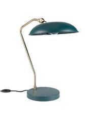 Dutchbone lampa biurkowa liam w kolorze morskim 5200062