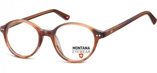 Okragle oprawki optyczne, korekcyjne montana ma70f