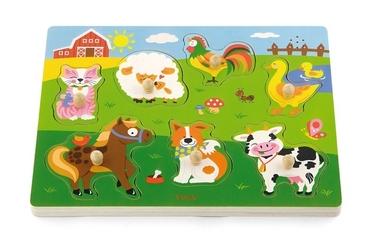 Viga Puzzle z dźwiękiem Farma
