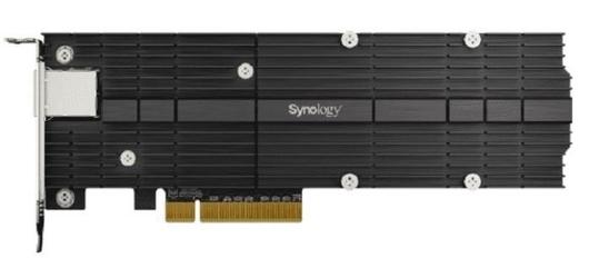Synology karta sieciowa e10m20-t1 combo card m2 ssd  10gbe pcie 3.0 x8 nvme