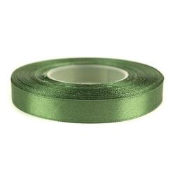Tasiemka satynowa 12mm32m - zielony - ziel