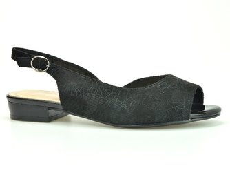 Sandały sergio leone sk807  czarny