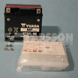 Akumulator bezobsługowy yuasa ytx5l-bs 1110258 aprilia rs 50, ajp pr4 200