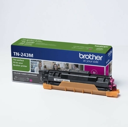Brother oryginalny toner TN243M, magenta, 1000s, Brother DCP-L3500, MFC-L3730, MFC-L3740, MFC-L3750