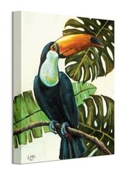 Tropical toucan - obraz na płótnie