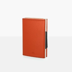 Portfel Aluminiowy Ogon Designs Cascade Wallet Orange RFID protect