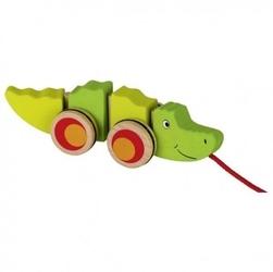 Krokodyl na sznurku