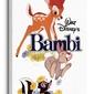 Bambi white - obraz na płótnie