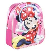 Plecak 3d myszka mini plecaczek wypukły disney minnie mouse new
