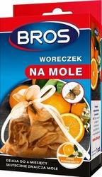Bros, Pomarańczowy woreczek na mole, 1 sztuka