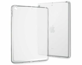 Etui silikonowe przezroczyste do Apple iPad 9.7 20172018 + Szkło