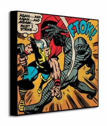 Thor Must I Strike - Obraz na płótnie